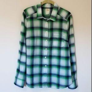 J.Crew perfect shirt in plaid